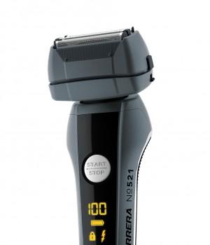 Allein schon optisch ein Statement: Der Rasierer 521 von Carrera besticht durch sein Design und das verwendete Material.