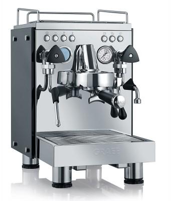 Graef Espresso-Kaffeemaschine Contessa mit 3 Thermoblöcken.