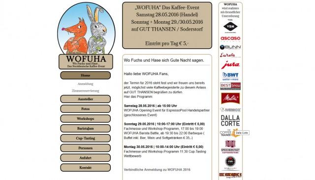 Screenshot wofuha Home