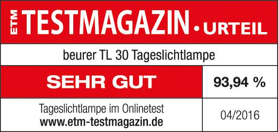 Siegel ETM Testmagazin