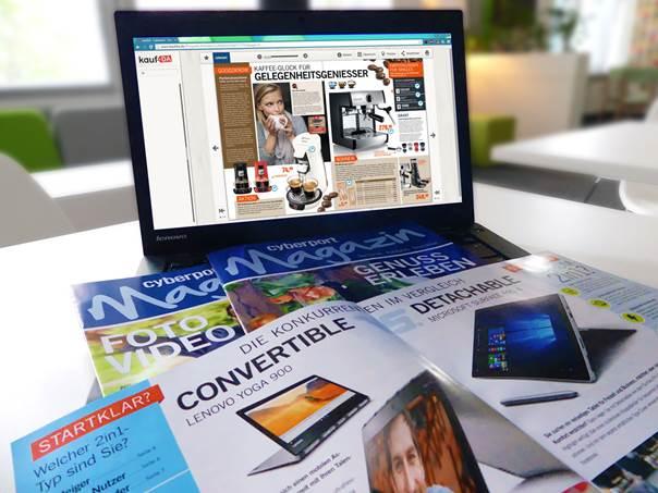 Cyberport bietet Kundenberatung auf allen Kanälen.