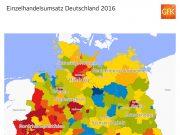GfK Einzelhandelsumsatz Deutschland 2016