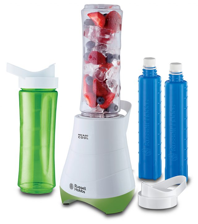 Russell Hobbs Smoothie Maker Mix & Go Explore Cool 21350-56 mit Kühl-Akkus.