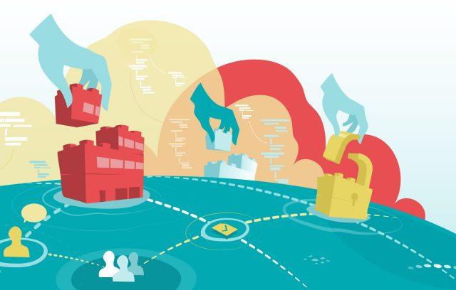 Datenschutz Illustration