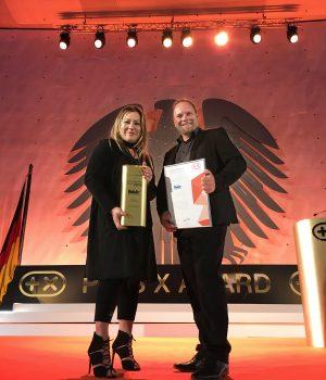 Ernten die Früchte ihrer Arbeit: Fakir Geschäftsführerin Bahar Gökdemir und Business Development Manager Scott Taylor.