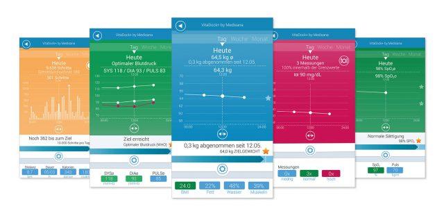 Medisana bietet mobile Gesundheit auf einen Blick rund um die Uhr.