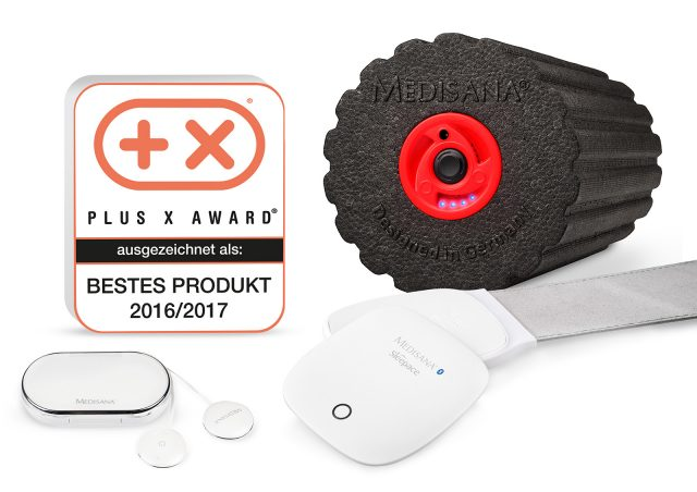 Medisana räumte beim diesjährigen Plus X Award ordentlich ab.