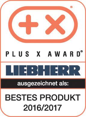 Plus X Award - Bestes Produkt 2016/2017: Liebherr