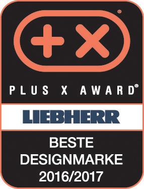 Plus X Award - Bestes Designmarke 2016/2017: Liebherr