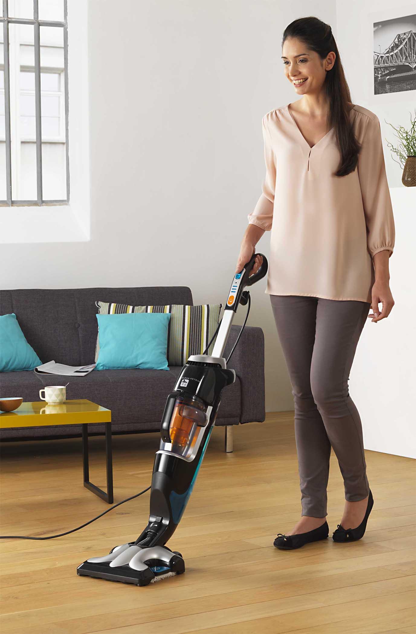 rowenta staubsauger clean steam. Black Bedroom Furniture Sets. Home Design Ideas