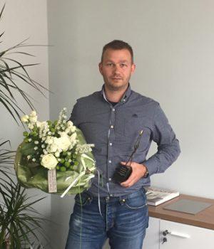 Freut sich über die Auszeichnung: Gründer Martin van der Sluis.
