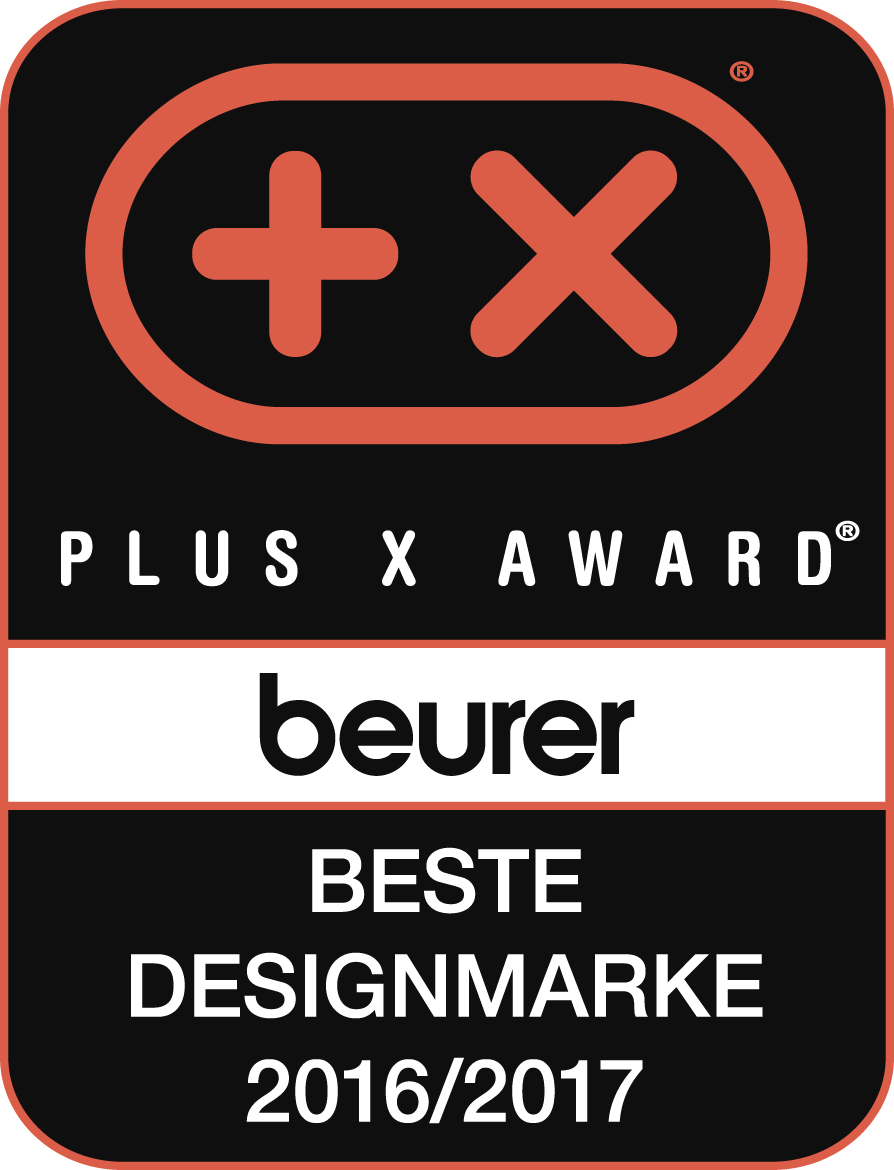 Plus X Award Siegel Beurer