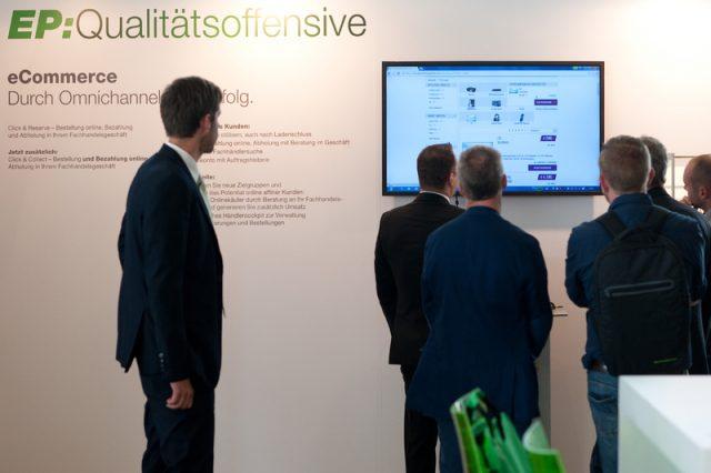 Auch ein Thema im Palais auf der IFA - die EP: Qualitätsoffensive.