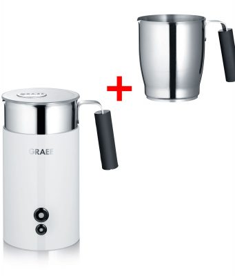 Graef Milchaufschäumer MS721 mit Zyklon-Aufschäumtechnologie.