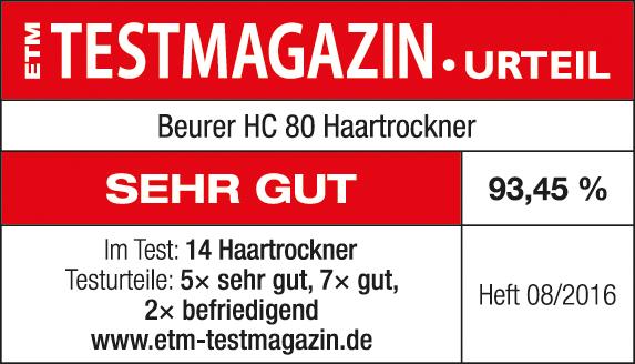 Siegel Beurer Haartrockner HC 80
