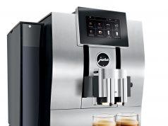Jura Kaffeevollautomat Z8 Aluminium mit Smart Connect.