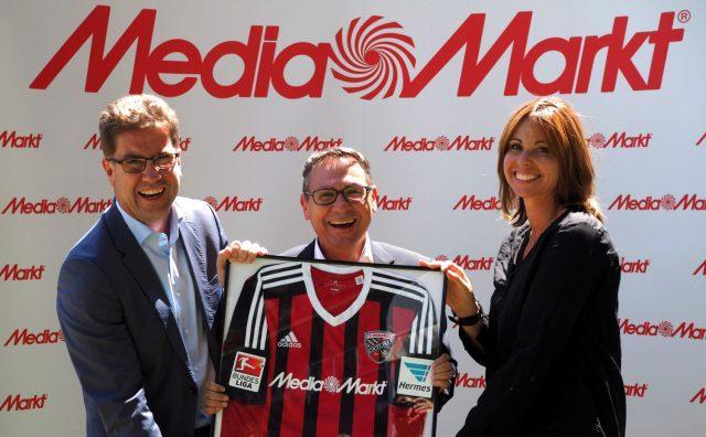 Media Markt Fussball Sponsering