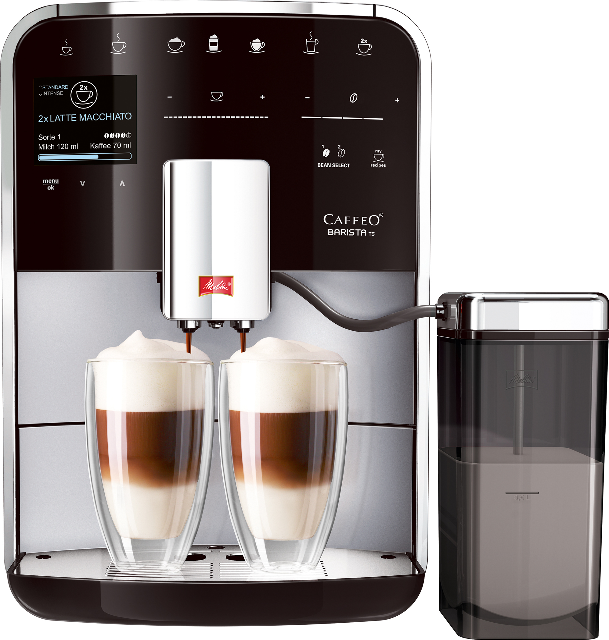 melitta kaffeevollautomat caffeo barista. Black Bedroom Furniture Sets. Home Design Ideas