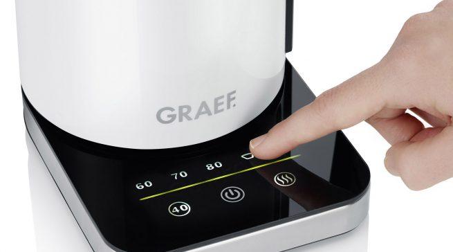 Ein Wasserkocher als multifunktionaler Küchen-Begleiter: WK 501 von Graef.