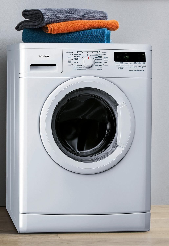 Leise, sparsam und einfach zu bedienen: Frontlader-Waschmaschine von privileg.
