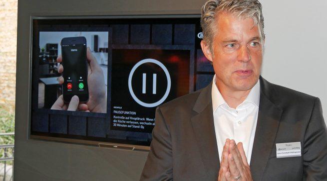 Jens-Christoph Bidlingmaier, Geschäftsführer von Bauknecht und privileg in Deutschland, hat aufgeräumt und den Marken privileg, Bauknecht und KitchenAid ein schärferes Profil gegeben.