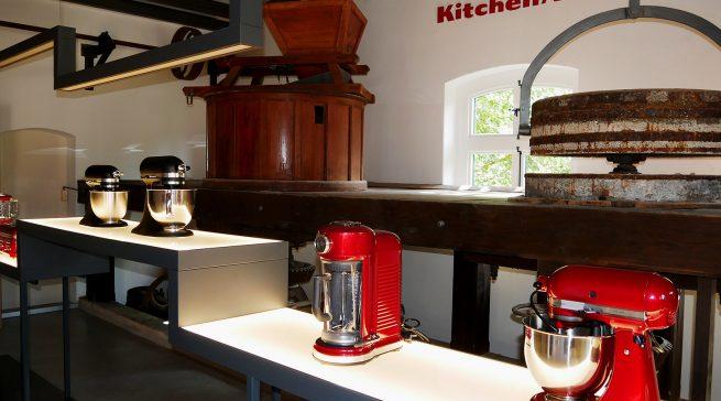 Die Strahlkraft der KitchenAid-Kleingeräte war auch auf Gut Böckel ein Türöffner für die großen Hausgeräte.