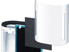 Beurer Luftreiniger LR 200 mit Dreischichtigem Filtersystem.