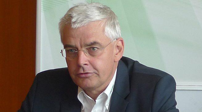 """""""Waschmaschinen sind nicht hipp, aber wertvolle Umsatzträger"""", so EP:-Vorstand Karl Trautmann."""