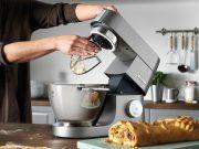 Kenwood Küchenmaschine Chef Titanium mit 1500 oder 1700 Watt Motor.