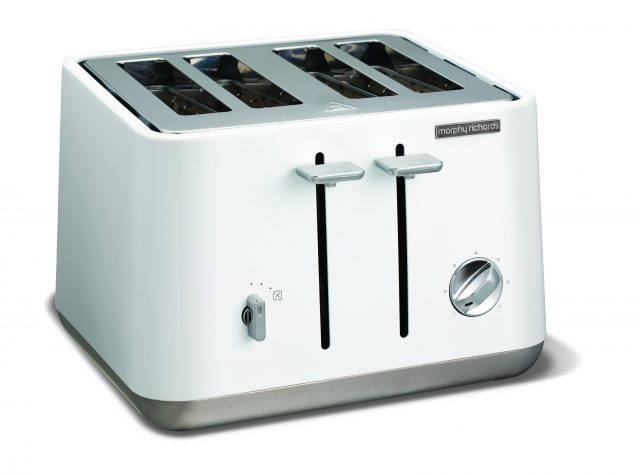 Morphy Richards Aspect Toaster in Weiß