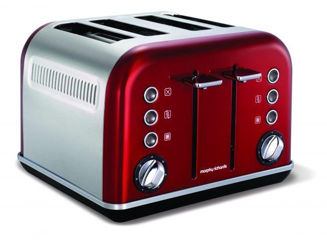 Der Morphy Richards Accents Toaster (Vierschlitz-Version)