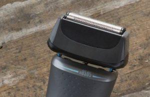 Remington Rasierer CaptureCut XF8505 mit AccuCut-Klingen.