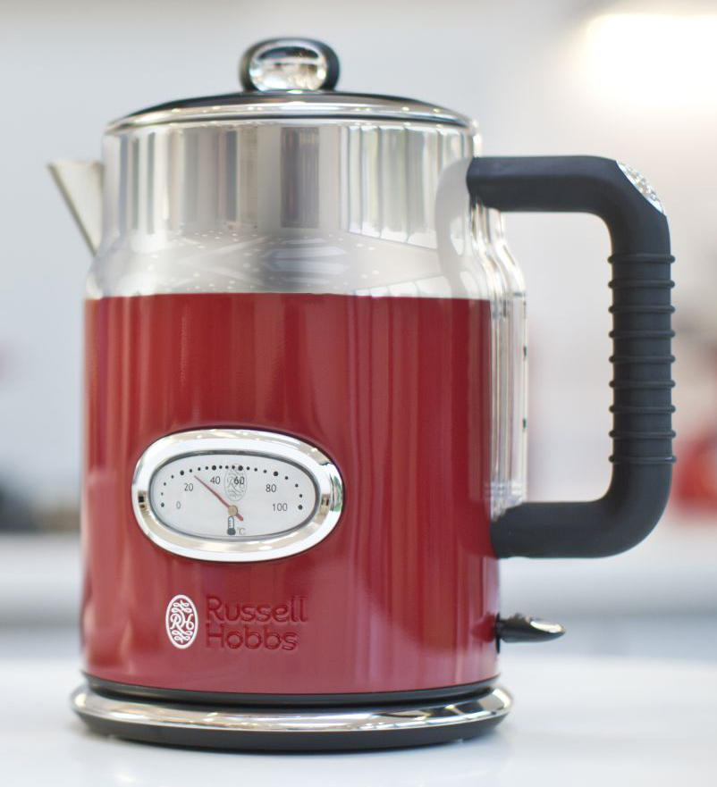 Russell Hobbs Wasserkocher Retro Ribbon Red 2167070
