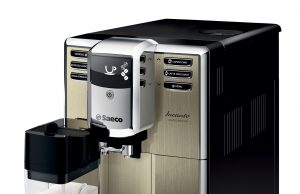 Der Saeco Kaffevollautomat Incanto Limited Edition Champagner HD8915/01