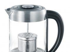 Severin Wasserkocher WK 3471 mit integriertem Teefilter.