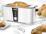 Unold Toaster Design Dual mit Lift-Funktion.
