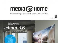 Chapeau: media@home Kundenmagazin und Lifestyle Magazin von Euronics wurden mit dem Fox Award ausgezeichnet.