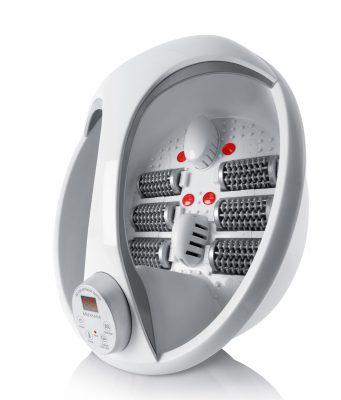 Medisana Fußsprudelbad PR-F90 geeignet bis Schuhgröße 46.