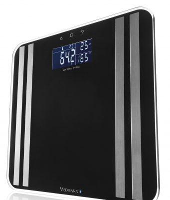 Medisana Körperanalysewaage PR-S90 mit Bluetooth Smart Datenübertragung.