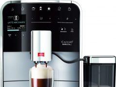 Der Melitta® Kaffeevollautomat CAFFEO Barista® TS in Silber/Schwarz