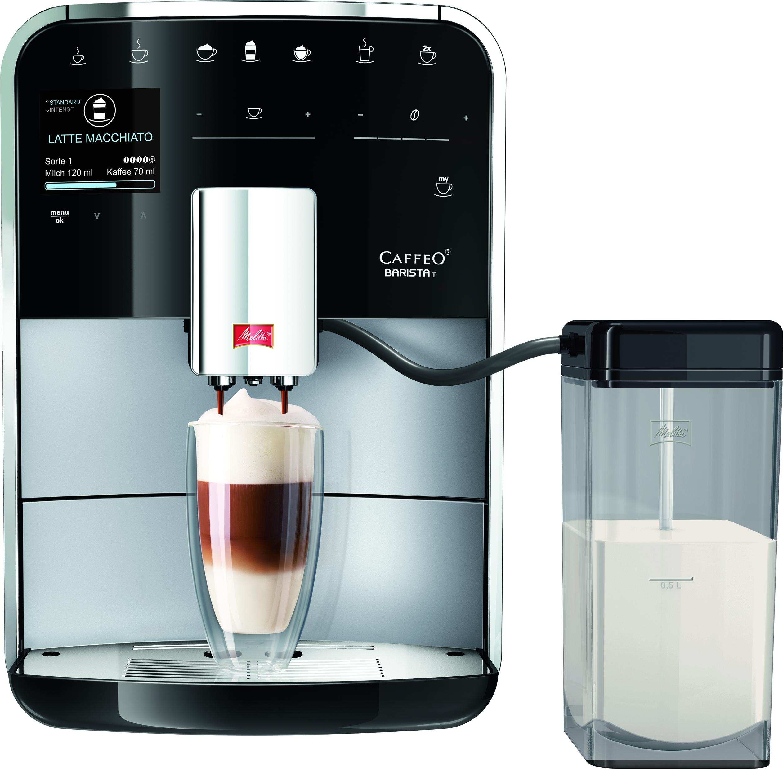melitta kaffeevollautomat caffeo barista t. Black Bedroom Furniture Sets. Home Design Ideas
