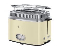 Russell Hobbs Toaster Retro Vintage Cream 21682-56 mit Lift- and Look­Funktion.
