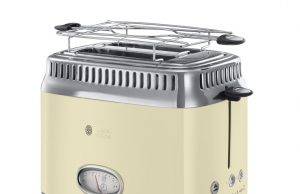 Russell Hobbs Toaster Retro Vintage Cream 21682-56 mit Lift- and LookFunktion.