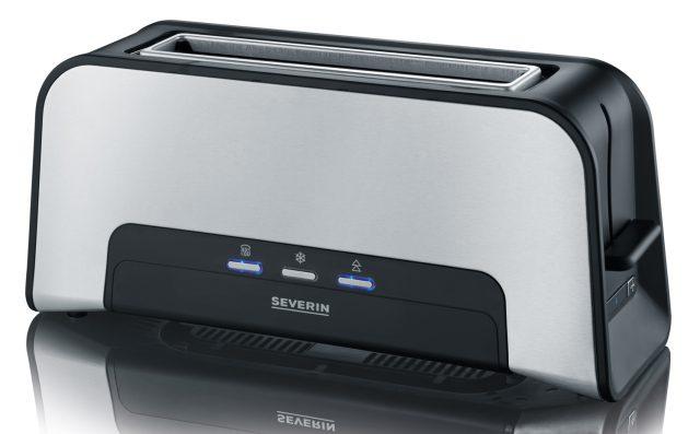 ^Severin Toaster AT 2260 mit Röstzeitelektronik.