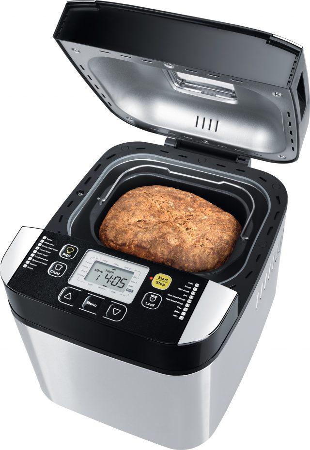 Steba Brotbackautomat BM 1 mit 18 Automatikprogrammen.