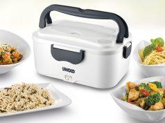 Unold Lunchbox mit Erwärmung von Speisen bis 70 °C.
