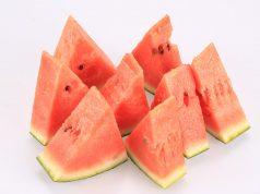 Melonenstücke