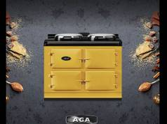 AGA in der Sonderfarbe Mustard-senfgelb