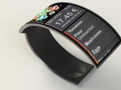 """Für den Durchblick im Lebensmittelangebot sorgt """"WatchYourself"""" von Hannes Lung: Ein fotografisches Auge an der Smartwatch scannt und analysiert das Produkt im Supermarktregal."""