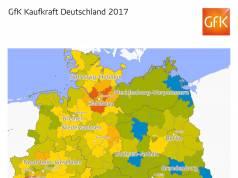 GfK Kaufkraft Deutschland 2017